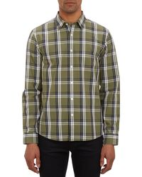 Michael Kors Plaid Tailoredfit Shirt - Lyst