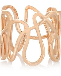 Repossi - White Noise 18-karat Rose Gold Ring - Lyst