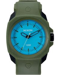 Nixon Ruckus Surplus / Black / Blue Watch - Lyst