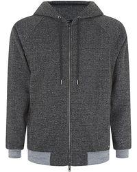 Marc Jacobs Lochlan Speckled Hooded Sweatshirt gray - Lyst