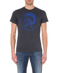 Diesel Ulysse Cotton-Jersey T-Shirt - For Men - Lyst
