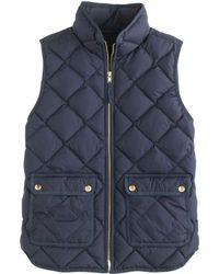 J.Crew Excursion Quilted Down Vest - Lyst