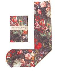 Strathcona - 'golden Age' Print Trouser Socks - Lyst