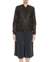 Day Birger Et Mikkelsen Aristo Lamb Leather Jacket - Lyst
