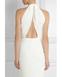 Dion Lee - Openback Texturedcrepe Midi Dress - Lyst