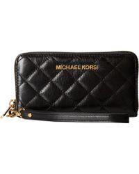 MICHAEL Michael Kors Susannah Large Coin Multi Funt Phone Case - Lyst