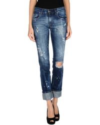 Pierre Balmain Denim Pants - Lyst