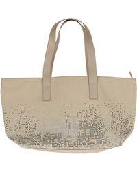 Gianfranco Ferré Large Fabric Bag - Lyst
