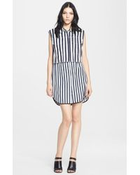 3.1 Phillip Lim Stripe Vest & Slipdress - Lyst