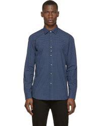 Diesel Blue Patterned S_Giamma Shirt blue - Lyst