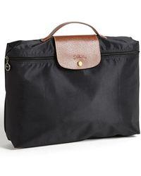 Longchamp - 'le Pliage' Briefcase - Lyst