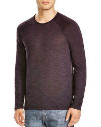 John Varvatos | Star Usa Raglan Knit Sweater | Lyst