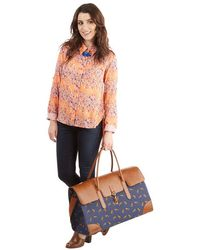 Nila Anthony - Clever Endeavor Weekend Bag In Fox - Lyst