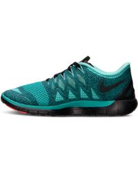 Nike Women'S Free 5.0 2014 Running Sneakers From Finish Line - Lyst