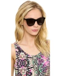 Oliver Peoples Emely Sunglasses  oliver peoples emely sunglasses in pink lyst