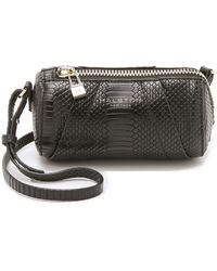 Halston Heritage Mini Barrel Bag - Black - Lyst