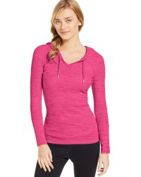 Calvin Klein Performance Thermal Hooded Pullover - Lyst