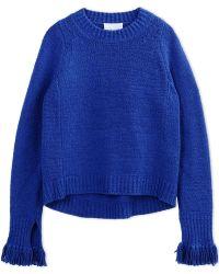 3.1 Phillip Lim | Long Sleeve Sweater | Lyst