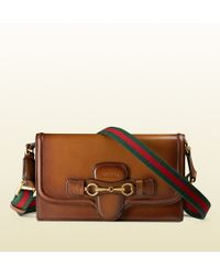 Gucci Lady Web Hand-stained Convertible Wallet - Lyst