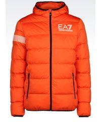 EA7   Down Coat   Lyst
