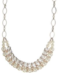 Coast - Padme Pearl Necklace - Lyst