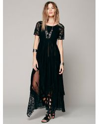 Free People Fp X Queen Of The Night Slip - Lyst