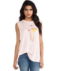 Wildfox Couture Island Breakfast Building Tank - Lyst