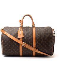 Louis Vuitton Keepall 50 Bag - Lyst