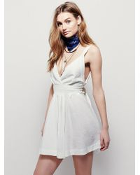 Free People | Endless Summer Womens Mini For You Dress | Lyst