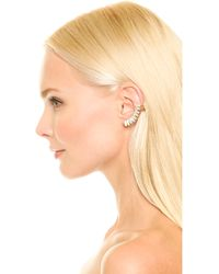 Auden - Harlow Left Ear Crawler - Cleargold - Lyst
