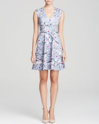 Cynthia Rowley Dress - Fit And Flare Star Print - Lyst