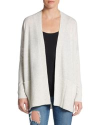 Vince Cashmere Open-front Cardigan - Lyst
