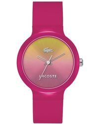 Lacoste - 42020078 Unisex Strap Watch - Lyst