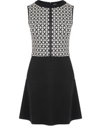 Oasis 2 in 1 Grid Check Dress - Lyst