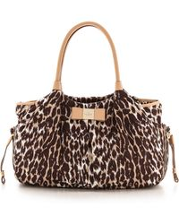 Kate Spade Veranda Place Nylon Stevie Baby Bag Leopard - Lyst