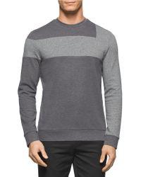 Calvin Klein | Colorblocked Pullover | Lyst