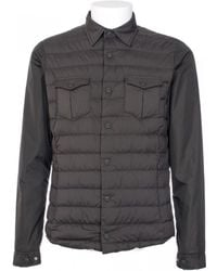 Herno Military Green Nylon And Goose Feathers Jacket green - Lyst