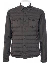 Herno Military Green Nylon And Goose Feathers Jacket - Lyst