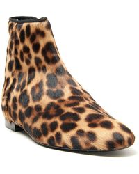 Avec Moderation Barbarella Leopard Ankle Boot - Lyst
