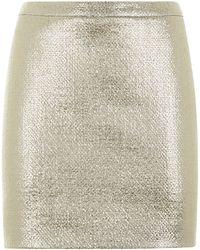 Joseph Nikki Laminated Wool Skirt - Lyst