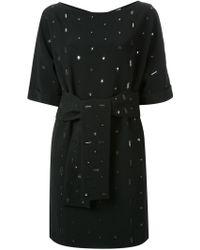 OSMAN | Embellished Belted Dress | Lyst