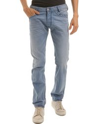 Diesel Lakop Light Blue Slim Fit Jeans - Lyst