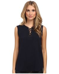 Tibi Blue Sailor Top - Lyst