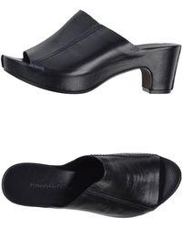 Roberto Del Carlo Blue Sandals - Lyst