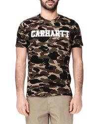 Carhartt Short Sleeve T-Shirt - I018488 - Lyst