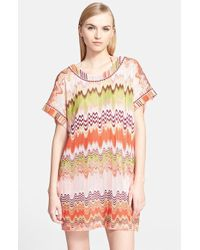 Missoni Mare Two-Way Wave Stitch Cover-Up Dress - Lyst