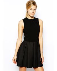 Oasis Full Skirted Dress - Lyst