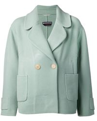Rochas Double Face Coat - Lyst