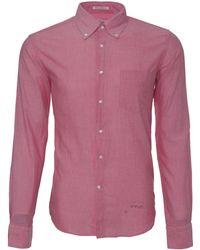 Gant Rugger Madras Button Front Shirt - Lyst