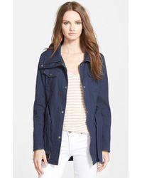 Guess Women'S Belted Utility Jacket - Lyst